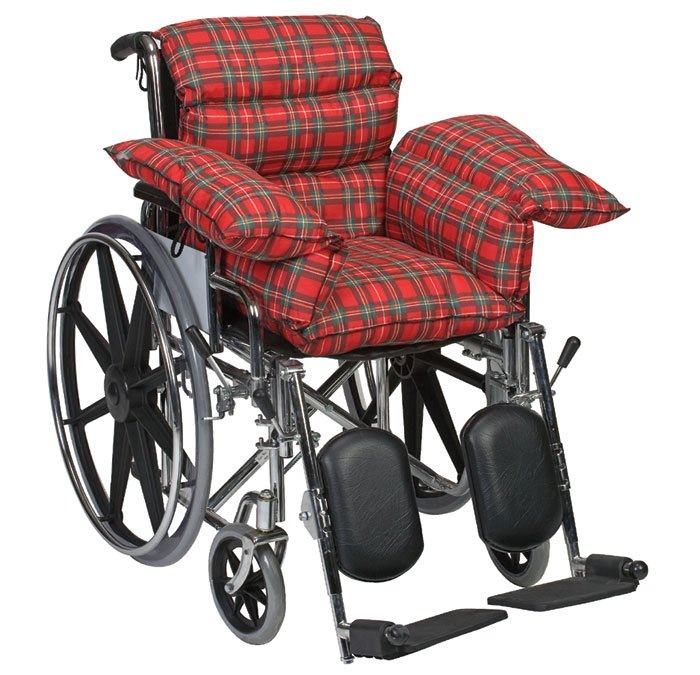 Mabis DMI Plaid Standard Comfort Cushion