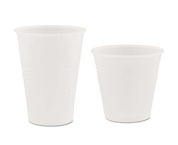 MDX INDUSTRIES Plastic Cups, Translucent