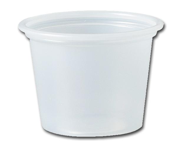 MDX INDUSTRIES Dart Conex Plastic Souffle Cup, 1 oz