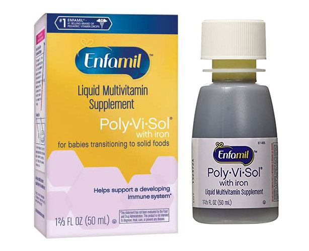 Abbott Nutrition Enfamil Poly-Vi-Sol with Iron Drops