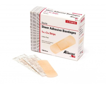 Sheer Strip Adhesive Bandages