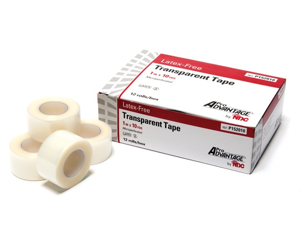 Pro Advantage Transparent Surgical Tape