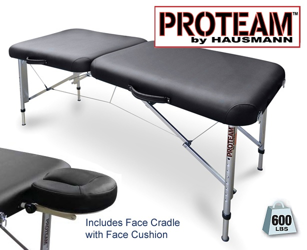 Hausmann Industries ProTeam Portable Treatment / Sideline Table