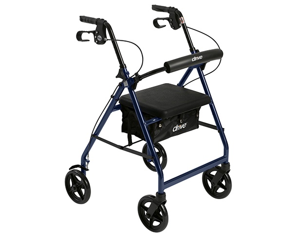 Aluminum Rollator Rolling Walker Drive Medical