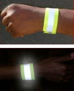 Reflective Wrist Wrap