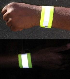 Reflective Elastic Wrist Wrap