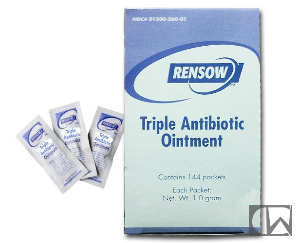 SAFETEC Safetec Triple Antibiotic Ointment, 0.5 gm Foil Packs