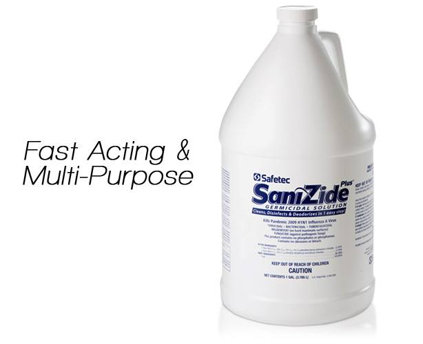 SAFETEC Safetec Sanizide Plus Disinfectant