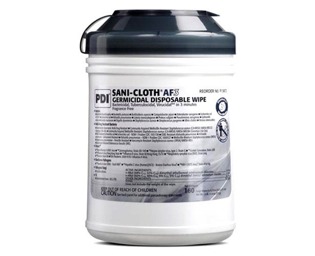 PDI Inc Sani-Cloth HB, Alcohol Free Wipes