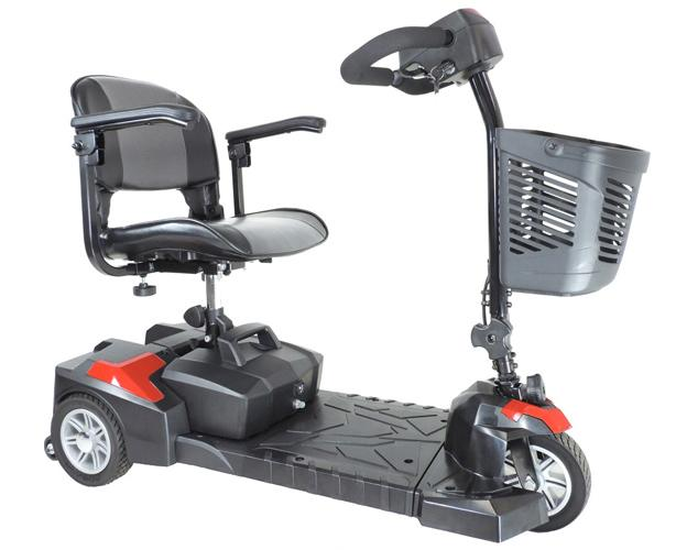 Scout DLX Compact Travel Scooter, 3 Wheel