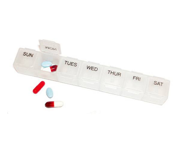 Mabis DMI 7-Day Pill Holder