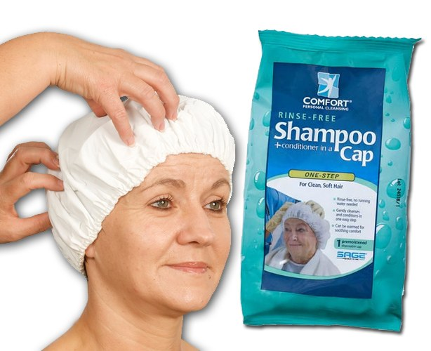 Sage Products Comfort Hair Shampoo Caps