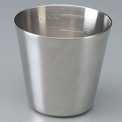 Stainless Steel Medicine Cup, 2 oz