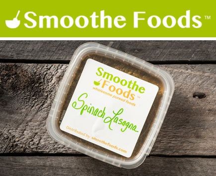 Smoothe Foods Puree - Spinach Lasagna