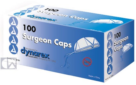Dynarex Corp. Surgeon Caps