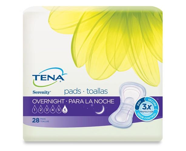 SCA / TENA TENA Serenity Overnight Pads
