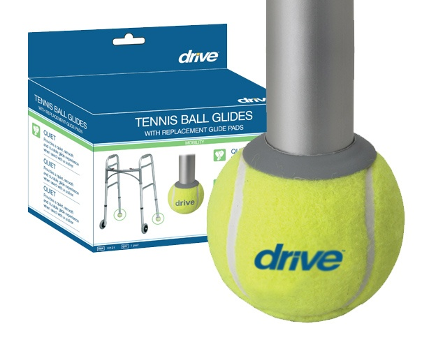 Drive Medical Deluxe Tennis Ball Glides