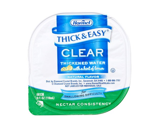Thick and Easy Thickened Water