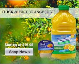 Thick & Easy Orange Juice