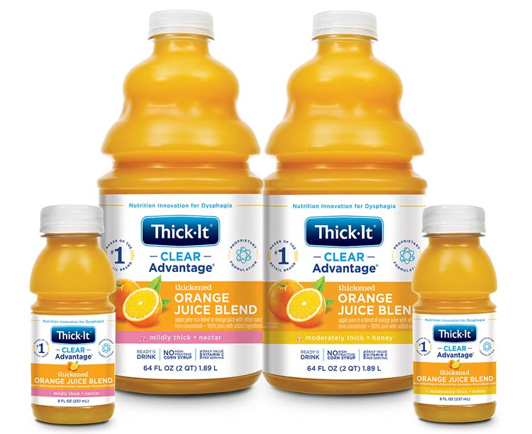 Thick-It Thickened Foods Thick-It AquaCareH2O Orange Juice