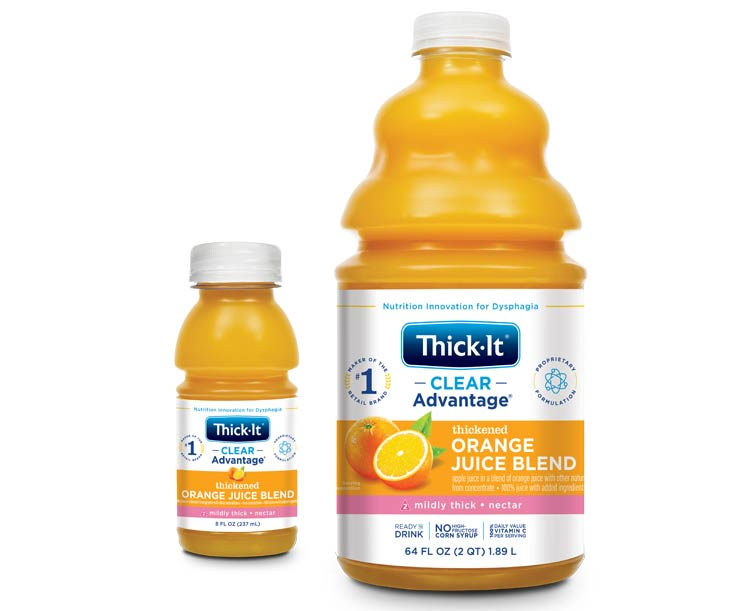 Thick-It AquaCareH2O Orange Juice