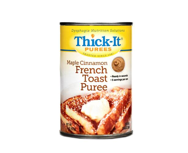 Thick-It Thickened Foods Thick-It Purees, Maple Cinnamon French Toast, Case