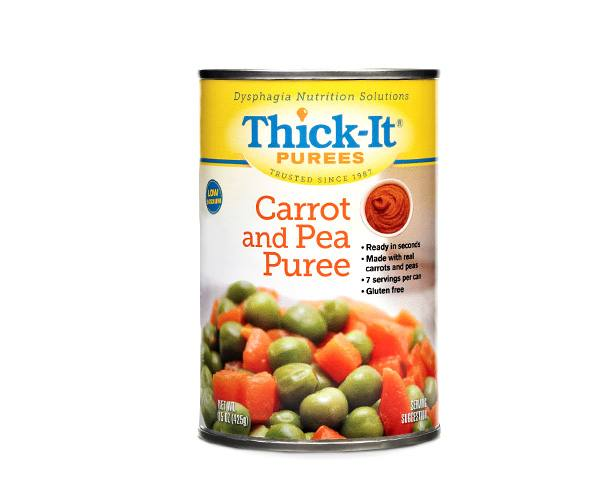 Thick-It Thickened Foods Thick-It Purees, Peas and Carrots, Case