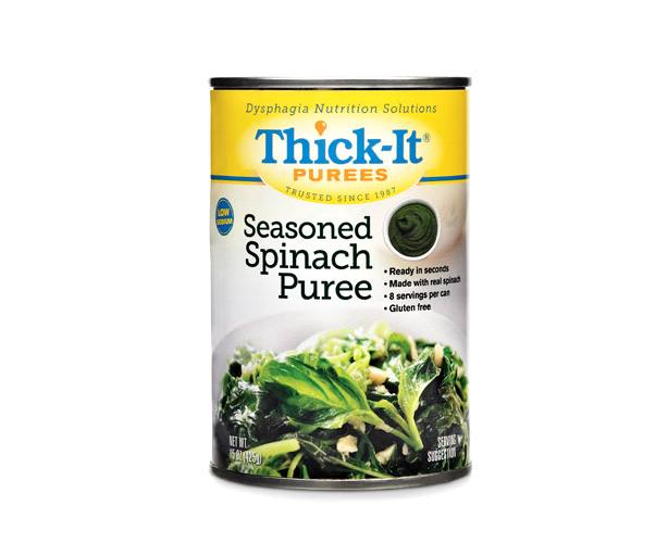 THICK-IT THICKENED FOODS Thick-It Purees, Seasoned Spinach, Case