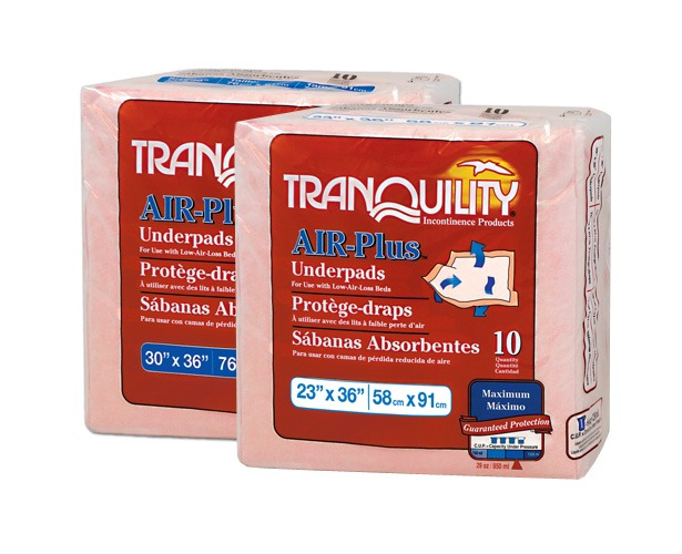 Principle Business Enterprises Tranquility Air Plus Underpads