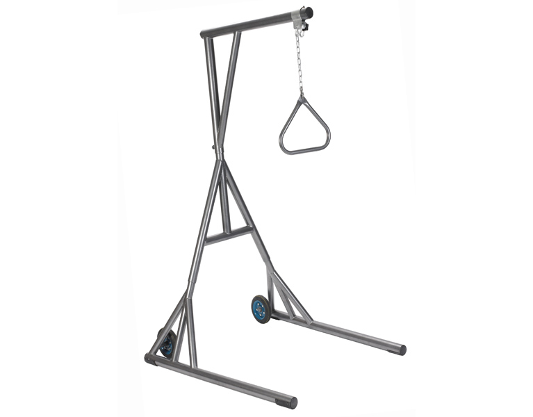 Free Standing Trapeze with Base and Wheels