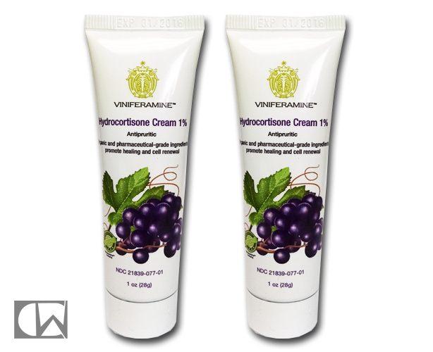 VINIFERAMINE Viniferamine Hydrocortisone 1% Cream