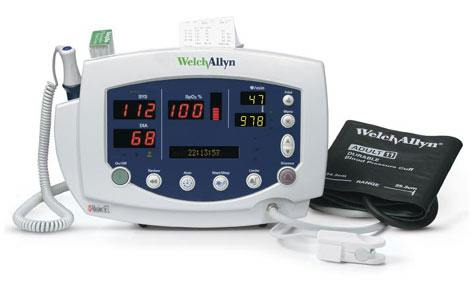 Welch Allyn Vital Signs Monitor 300 with Nellcor SpO2