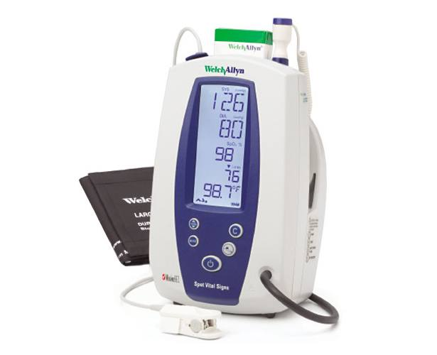 Welch Allyn Spot Vital Signs Monitor with Nellcor SpO2