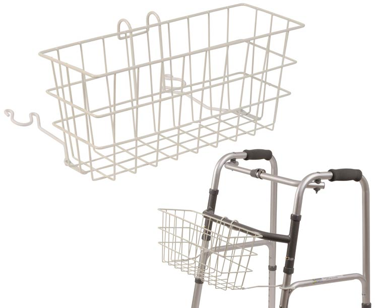 Mabis DMI Clip-On Walker Basket