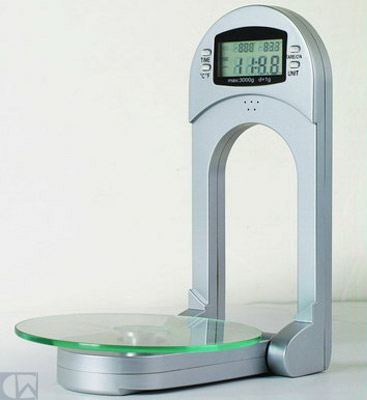 Newline Newline Space Saver Kitchen Scale