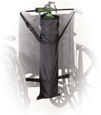 Drive Medical Wheelchair Carry Pouch for Oxygen Cylinder