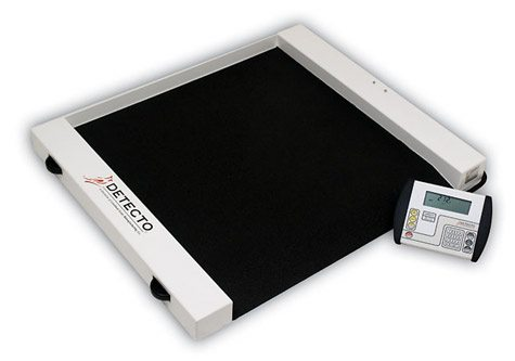 Detecto Scales Roll-A-Weigh Wheelchair Scale