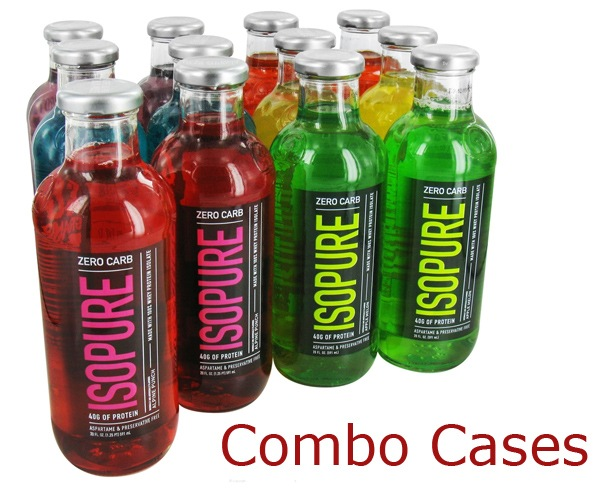 The Isopure Company Zero Carb Isopure - Combo Cases
